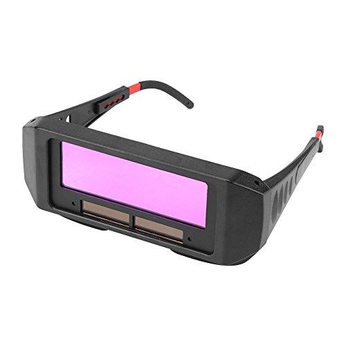 FTVOGUE Selbstabdunkelnd Sonnenbrille Schweißschutz für den Schutz der Augen, Schwarz