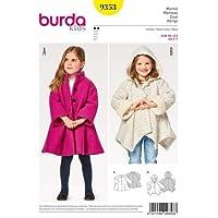 Burda B9353 Patron Kids 9353 Manteau, Papier, Blanc, 19 x 14 x 0,5 cm