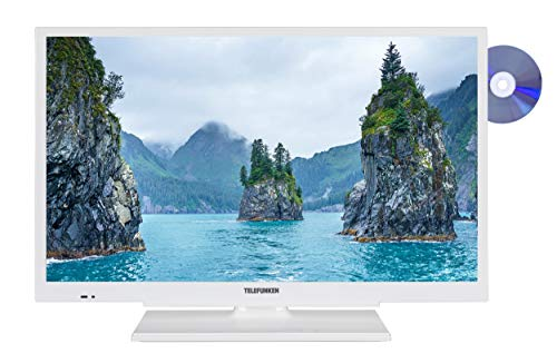 Telefunken XF22G101D-W 56 cm (22 Zoll) Fernseher (Full HD, Triple-Tuner, DVD-Player integriert)