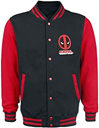 Deadpool Deadpool - Logo Veste Collège noir/rouge