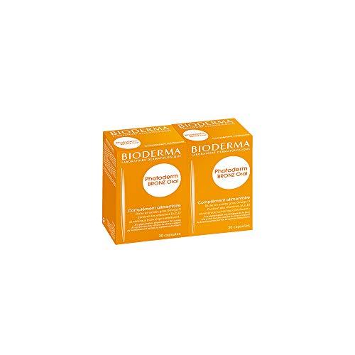 Lot de 2 PHOTODERM BRONZ Oral 36 comprimés | Favorise la pigmentation physiologique de la peau- Protège les cellules contre le stress oxydatif | Peaux exposées au soleil en haute altitude
