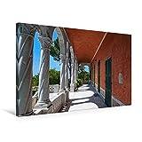 """Special-Edition der Leinwand """"Villa Hanbury, Südterrasse"""" im Format """"75x50"""" als perfektes Geschenk oder als Dekoration für das Schlafzimmer, Büro oder Wohnzimmer.Die Hanbury Gärten an der ligurischen Riviera sind sowohl ein wunderschöner Park direkt ..."""