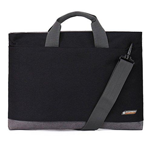 YAAGLE Laptoptasche, Tasche Hülle Aktentasche für 15 Zoll Laptop / Notebook Computer / MacBook / MacBook Pro pink schwarz/13 Zoll