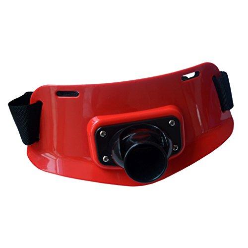 Cinturón de Pesca Ligero Resistencia Agua de Mar Accesorios de Deportes Acuáticos Aire Libre - Rojo
