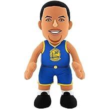 NBA Golden State Warriors Stephen Curry Plush Figure, 10, Royal Blue by Bleacher Creatures