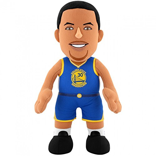 Stephen Curry Golden State Warriors Plüsch Figur, Größe Textil:M (Basketball-trikots Air)