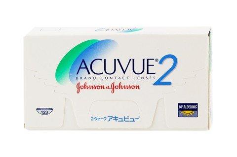 Acuvue 2, 6er - Johnson & Johnson - Wochenlinsen - BC 8.7 -8.50