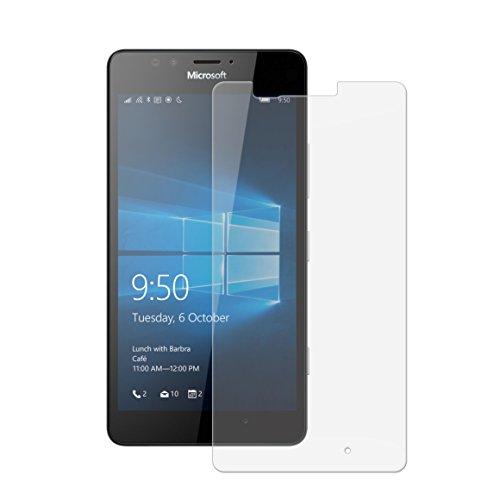 Vada-Tec Panzerglas Glasfolie Microsoft Lumia 950 Echt Glas Schutzfolie - 9H Hartglas Original