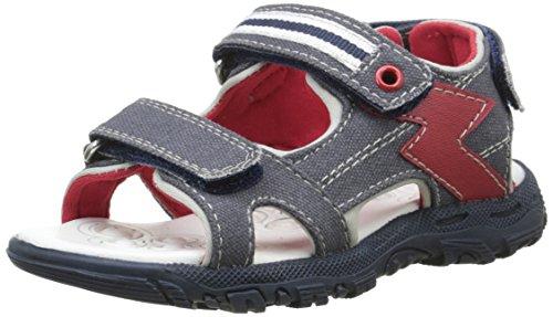 Chicco Sandale Cricket - Sandali alla caviglia con punta aperta Bambino, Blu (800), 28