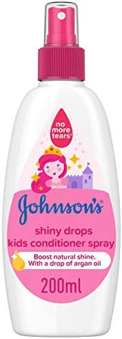 JOHNSON'S Kids Conditioner Spray - Shiny Drops, 200ml