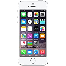 "Apple iPhone 5s - Smartphone libre iOS (pantalla 4"", cámara 8 Mp, 16 GB, Dual-Core 1.3 GHz, 1 GB RAM), blanco/plata [enchufe de Reino Unido]"