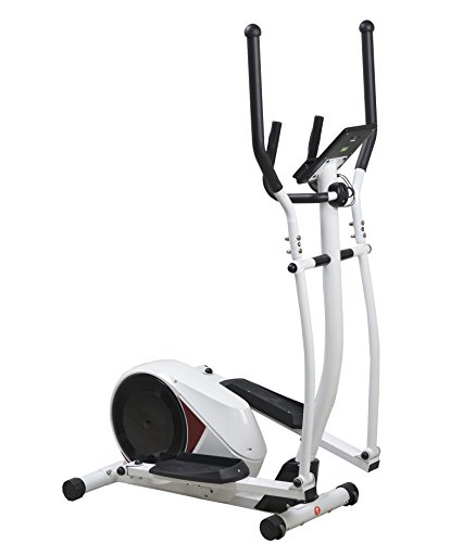 Sportplus Cross Trainer with App Control and Google Street View � 14 kg Flywheel Mass � Bluetooth Chest Strap Compatible � Max. User Weight 120 kg
