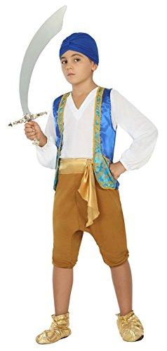 Atosa 22526 - Araber, Jungenkostüm, Größe - Für Halloween Kostüm Araber