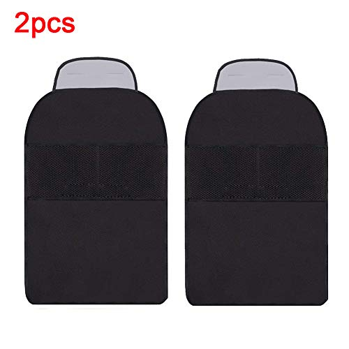DEBBD Car Seat Back Protector Cover For Kids Kick Clean Mat Protects Anti Dirty Cover Storage Bags