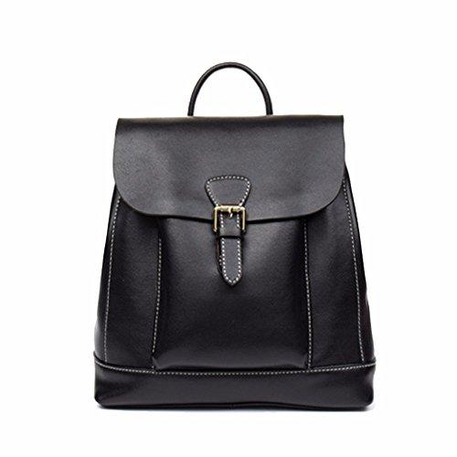 il retro della borsa di pelle borsa donne viaggi?vino rosso black
