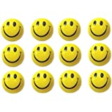 Smart Generic 12 Pcs Set Of Smiley Face Squeeze Ball, Stress Buster,Return Gift, Mood Lifter By Trendscartzy Store