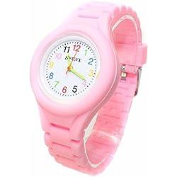 Facilla® Childrens Watch Children's Quartz Silicone Watch Bracelet Gift Fashion