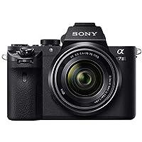 Sony Alpha 7M2K Kit Fotocamera Digitale Mirrorless Full-Frame con Obiettivo Intercambiabile SEL 28-70 mm, Sensore CMOS Exmor Full-Frame da 24.3 MP, Stabilizzazione Integrata, ILCE7M2B + SEL2870, Nero