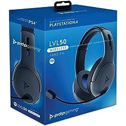 Casque LVL50 sans Fil pour Sony Playstation - noir