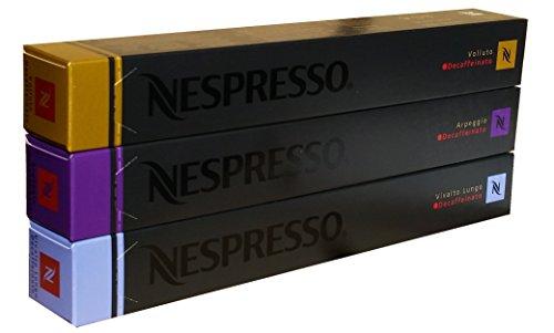 Nespresso Decaffeinato Variety, 30 Capsules 41iZwQhtoSL