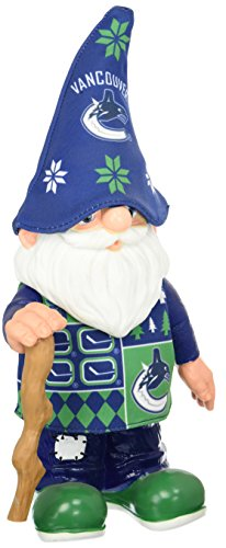 Forever Collectibles NHL Vancouver Canucks Echt Ugly Pullover Gnome–Busy Block, blau