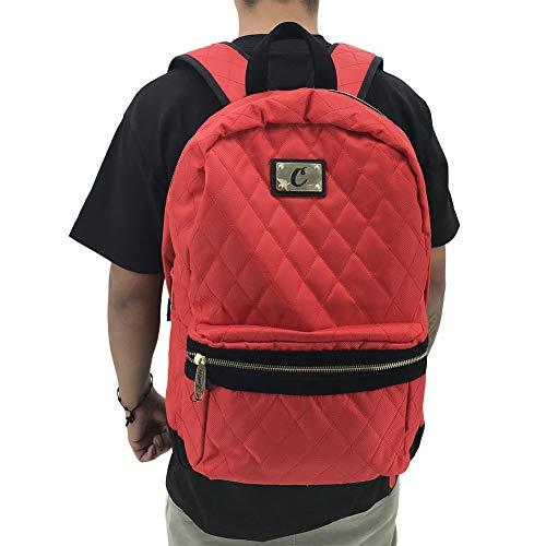 Cookies SF Berner Unisex Smell Proof V3 Quilted Backpack Bag Red