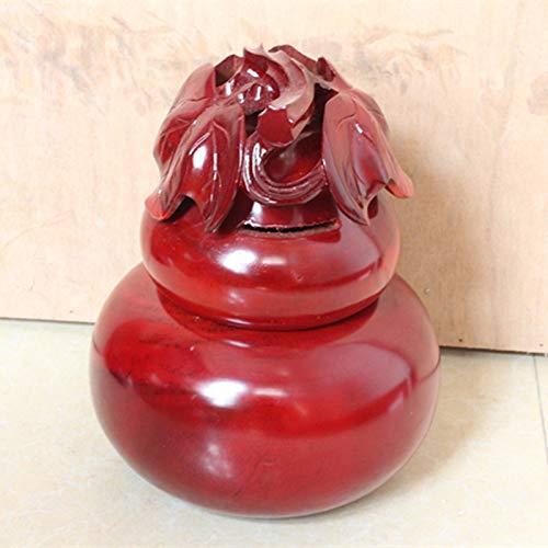 HONGLINanmu Piggy Bank aus Holz Kürbis Geformte Sparschwein Dekoration Kürbis Handwerk Dekoration