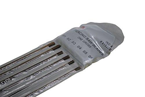 Proops 144sortiert Schwert Piercing Klingen grade 0/1, 0/2, 0/3, 0/4, 0/5& 0/6. Juwelier, Uhrmacher, (J2184) kostenlos uk Versandkosten