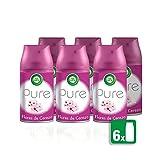 Air Wick Ambientador Freshmatic Recambio Pure Flores de Cerezo de Asia 6 unidades