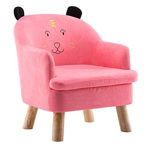 HAKN Canapé pour enfant, canapé bébé dessin animé (Couleur   Pink, taille   70b8141d653