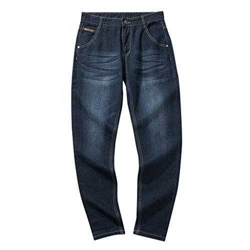 Dwevkeful Jeans Herren Groß GrößE Freizeithosen MäNner Hosen Distressed Jeans-Hose Trekkinghose Casual Trainingshose Sporthosen Vintage Trousers -