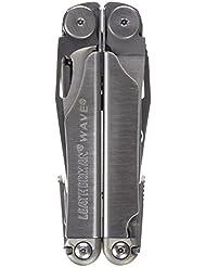 LEATHERMAN Wave 100% Edelstahl mit 19 Werkzeugen, 1 Stück,LTG830078
