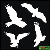 10er Aufkleber Set Vogelschutz Und Fensterschutz I Hin125