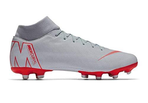 NIKE Unisex-Erwachsene AH7362 Sneakers, Mehrfarbig (Wolf Grey/Lt Crimson/Pure Platinum 001), 40 EU
