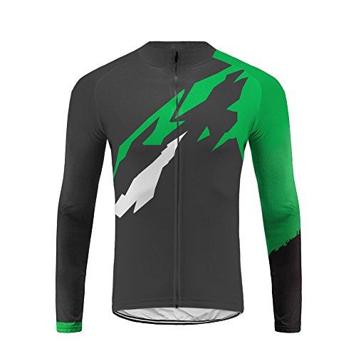 Uglyfrog New Winter Jacket Warm Herren Männer Lange Ärmel Zyklus Jersey Long Fahrradtrikot Fahrrad Hemd Fahrrad Radfahren Trikot Cycling Jersey Bike Top