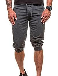 Hombres Pantalones Hippie Harén Pantalones De Deportivos Casual Pantalones Capri