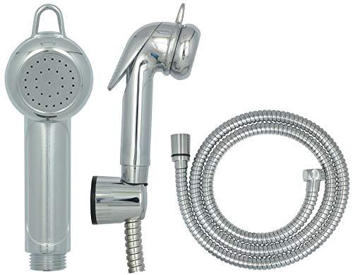 Bidet Handbrause Intimdusche Brause Pflege Dusche Bidetarmatur Arabic Shower Brausekopf Intimpflege Wasserstop Chrom
