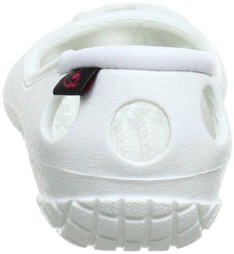 Chung Shi 890081O, Ballerines fille Blanc (Weiß)