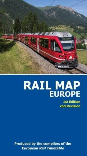 Rail Map of Europe 1 : 4.000.000