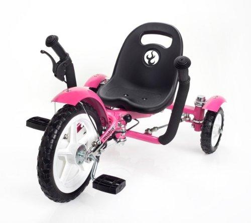"MOBO Cruiser ""Tot"" Tretfahrzeug Kinderdreirad 2 - 5 Jahre - pink"