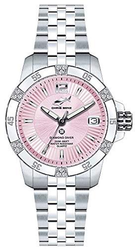 Chris Benz Armbanduhr CB-DD200-R-MBJ Damenuhr