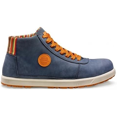 Brave Breeze H S3Src alta zapato de seguridad, Dike zapato de trabajo azul