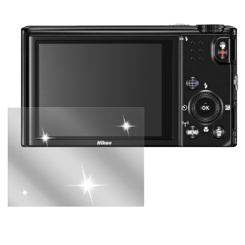 dipos I 6X Schutzfolie klar passend für Nikon Coolpix S9600 Folie Displayschutzfolie (Kamera Nikon S9600 Coolpix)