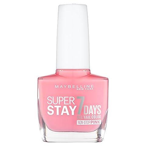 Maybelline SuperStay 7 Days Gel 140 Rose Rapture Nail Polish 10ml