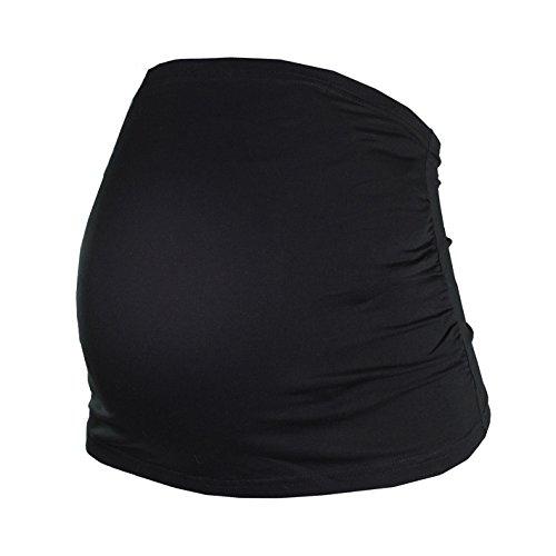 HERZMUTTER - Ceinture de grossesse spécial grossesse - Femme noir/gris