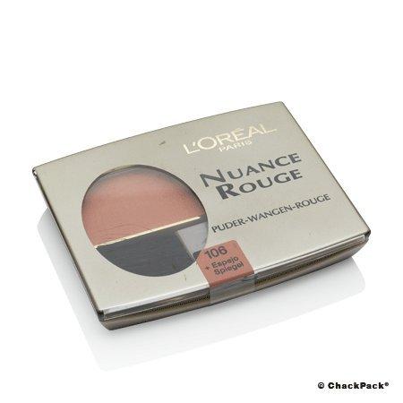 L\'Oréal Paris Nuance Rouge, 106 Ambra/Wangenrouge für natürlich-mattes Make-Up-Finish, für jeden Hauttyp/1 x 6g