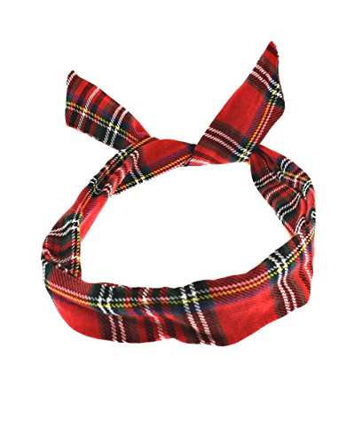Price comparison product image Zac's Alter Ego® Tartan Print Wire Headband