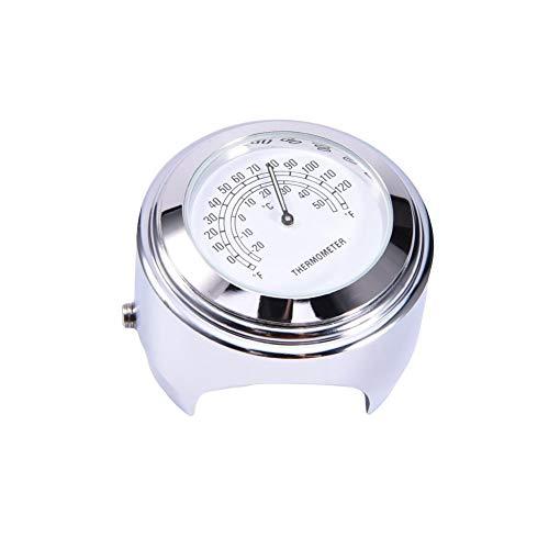 True-Ying Motorrad Lenker Zifferblatt Uhr Thermometer Instrumente Unversal Motorrad Uhr Zubehör & Teile Für Harley Davidson Motor
