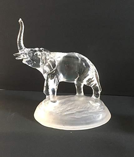 Crystal D'Arques Elefante - 16 x 14,5 cm - Excelente Detalle y artesanía