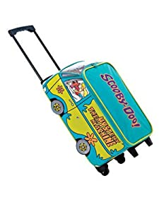 Scooby Doo Wheeled Bag Suitcase, 47 cm, 26 L, Green